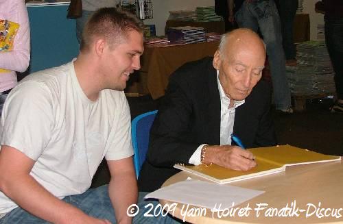 Jack Wattley et Yann Hoiret