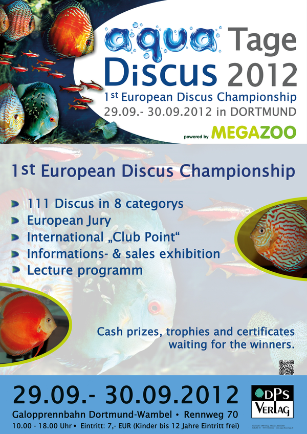 1er concours discus européen - Dortmund (DE) - 29-30/09 PlakatA4_Discus_Englisch_1