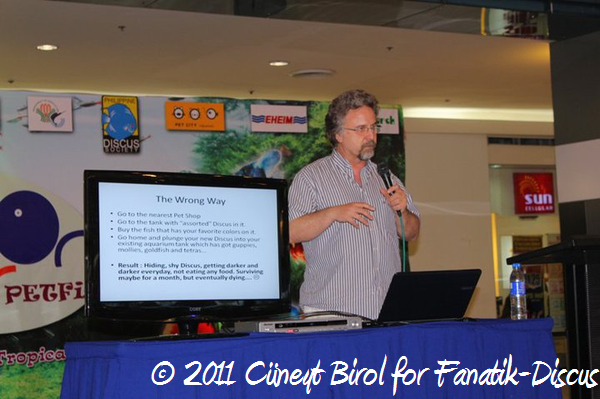 Conférence de Cüneyt Birol lors du Petfish 2011