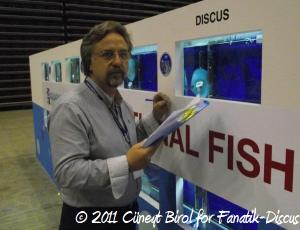 Cüneyt Birol juge à Aquarama 2011
