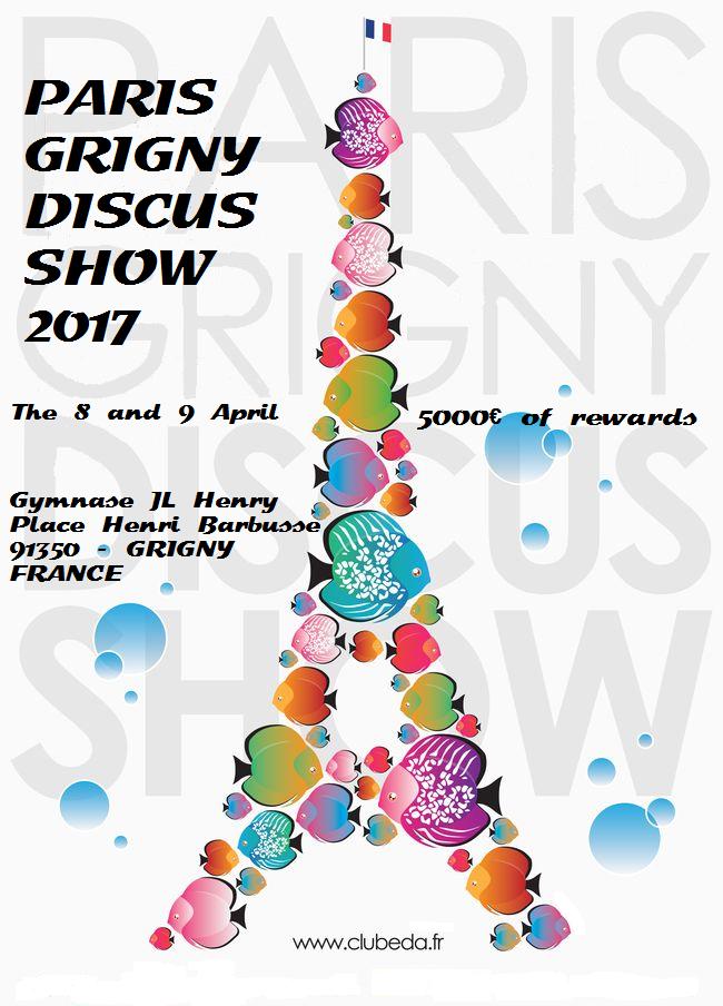 Paris Grigny Discus Show 2017