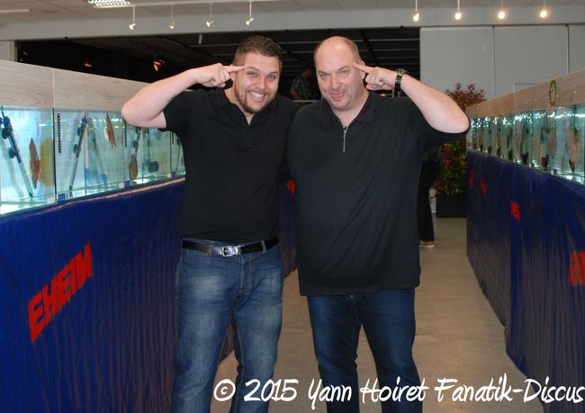 Yann Hoiret et Udo Thraen