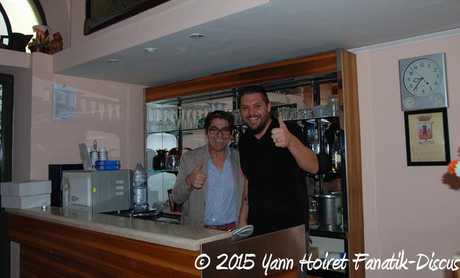 Yann Hoiret à Naples