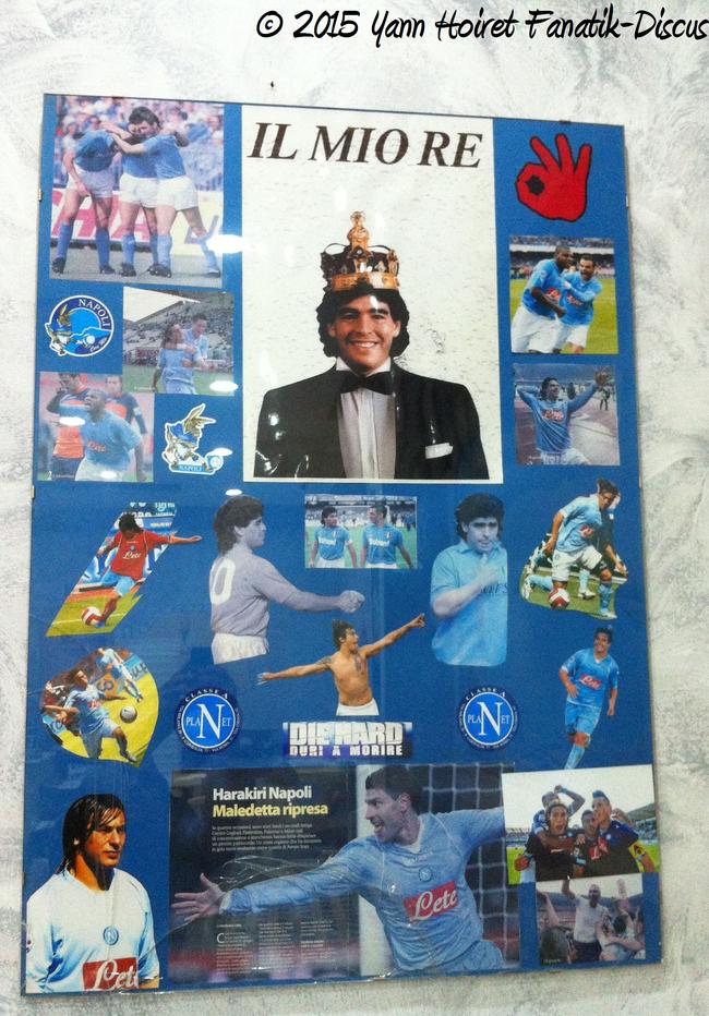 Hommage à Maradona Napoli Aquatica 2015