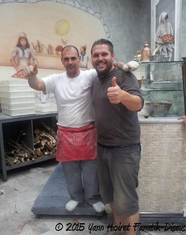 Pizza à Napoli