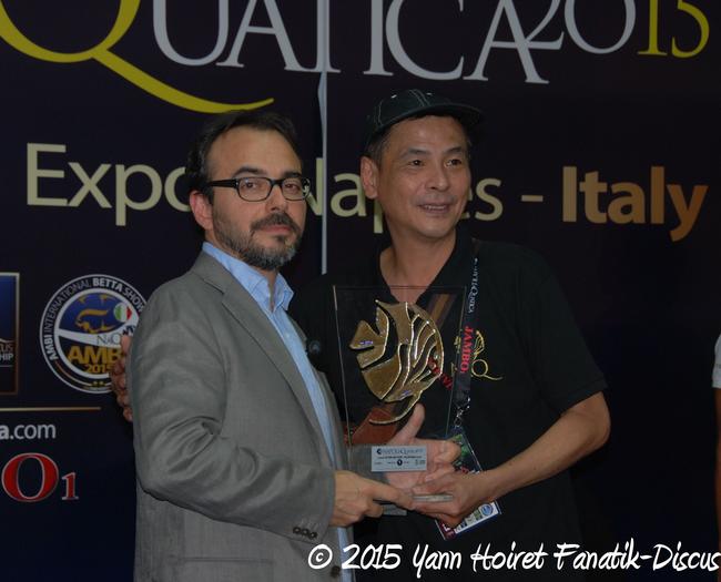 Tony Tan Carmelo Arico Napoli discus show 2015