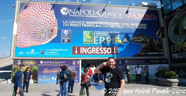 Yann Hoiret au Napoli Aquatica 2015