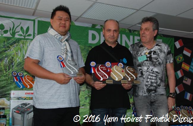 Gagnants de la catégorie sauvage/brun FDS 2016