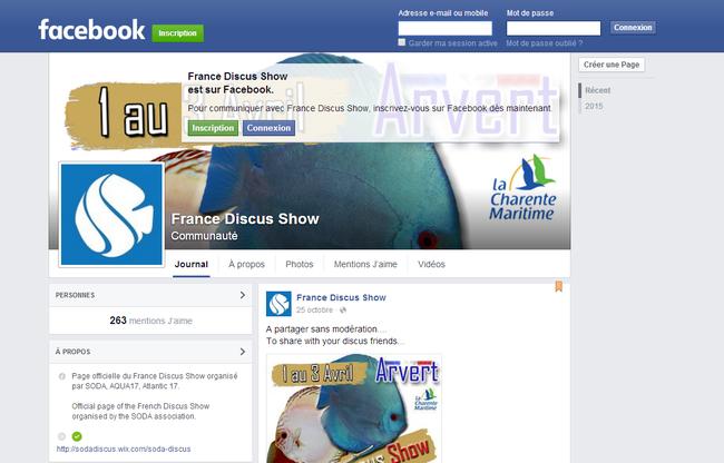 France Discus Show Facebook