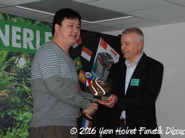 Francis Hu et le juge Marc Vermessen