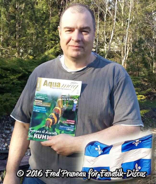 Fred Pruneau AquaMag 30 Fanatik discus