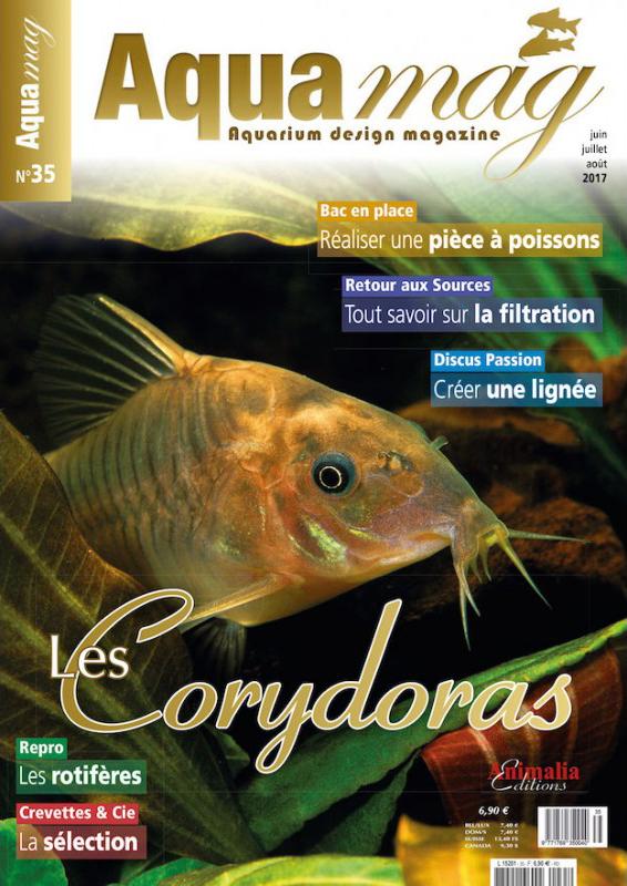 Couverture Aquamag 35 élevage sélectif des discus