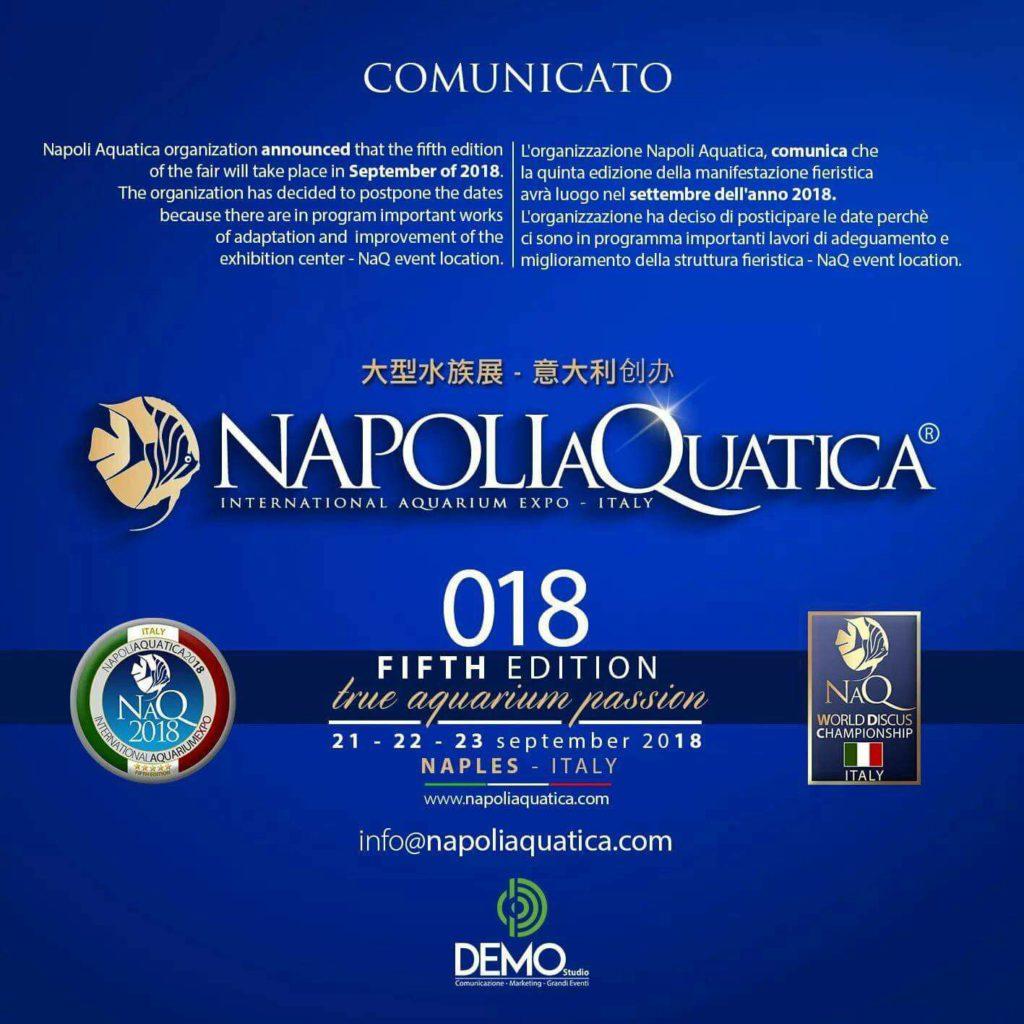 NAQ World Discus Show Napoli 2018
