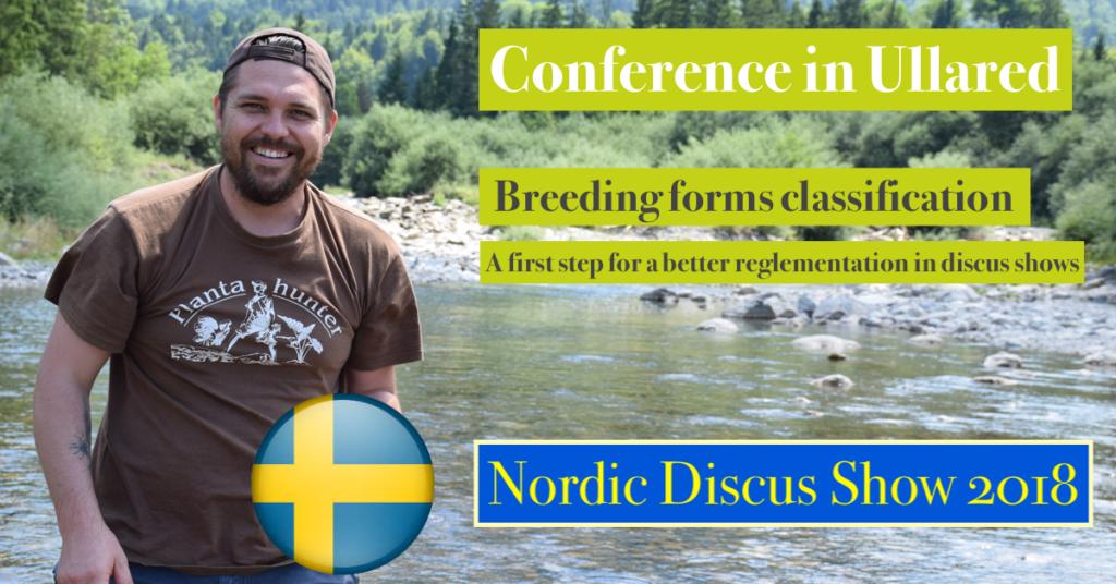 Annonce conférence Suède Nordic Discus Show 2018