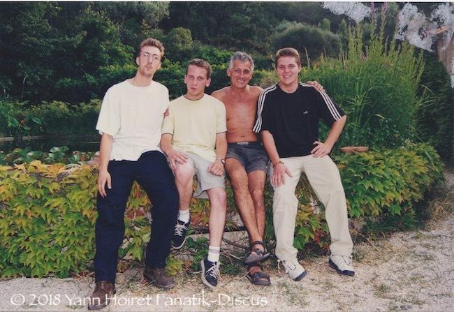 1999 Jeff Dubosc Nicolas David JC Nourissat Yann Hoiret à Toulon chez JC