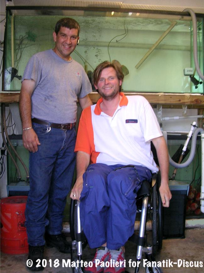 Matteo Paolieri et Gabe Posada 2007