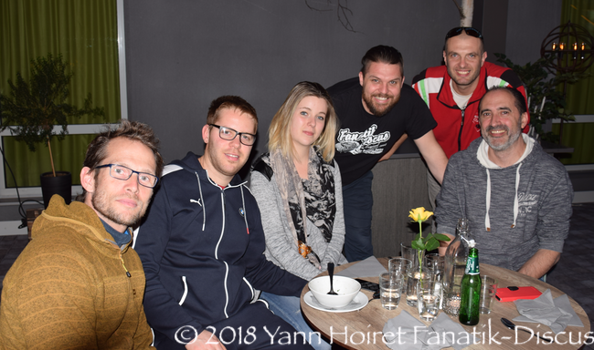 La team France venue à Ullared