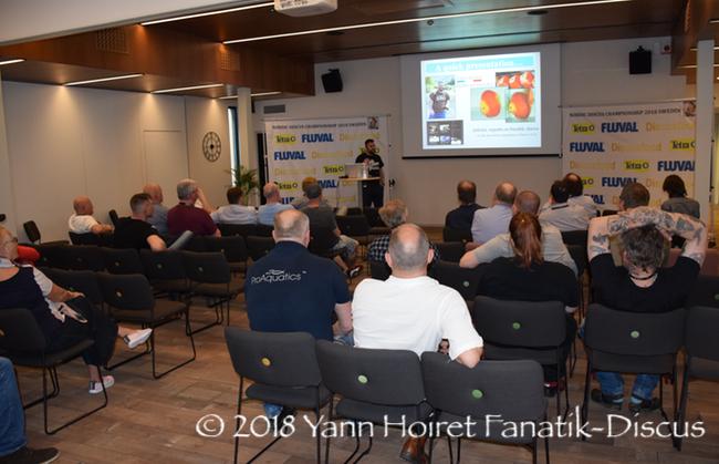Conférence de Yann Hoiret en Suède